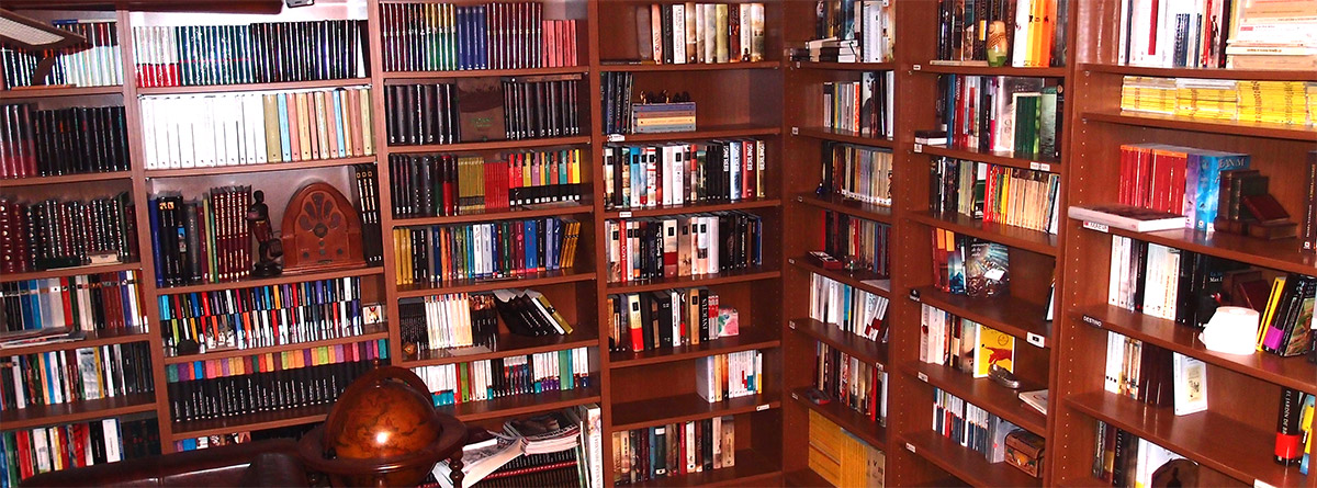 La biblioteca de La historia en mis libros