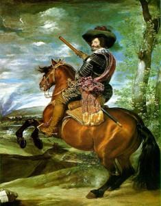 Conde Duque de Olivares. Diego de Velázquez