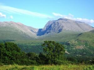 El Ben Nevis, el pico más alto de Escocia.
