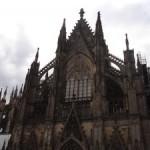 Las sombras de la catedral.