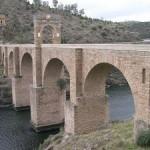 El puente de Alcántara.