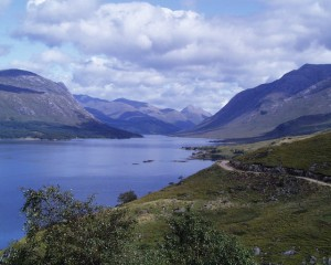 lago Etive en Escocia