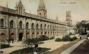 Universidad de Caracas a principios del S.XX