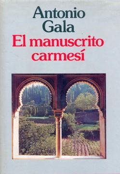 El manuscrito carmesí de Antonio Gala