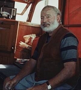 Ernest Hemingway. 1950