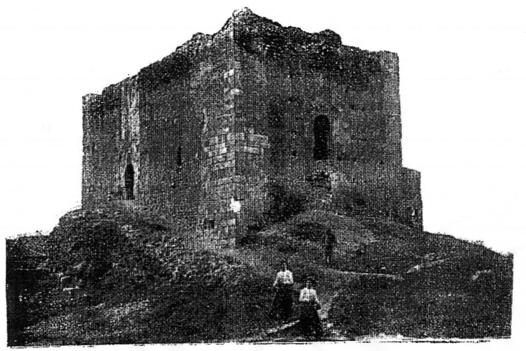 Castillo de Malagón, hoy derruido. Perdonad la mala calidad de la imagen.