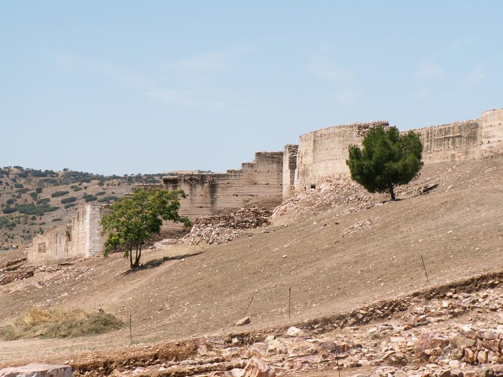 Muralla exterior del castillo de Alarcos