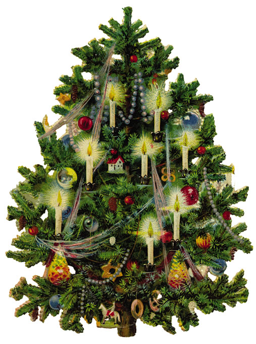 christmas_tree_colored_old_fashion