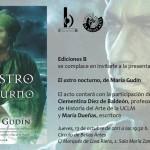 Presentación de «El astro nocturno» en Madrid
