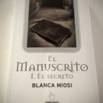 """Participantes en el sorteo de """"El manuscrito I. El secreto"""" de Blanca Miosi"""