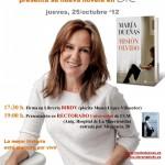 María Dueñas firmara «Misión  Olvido» en Ciudad Real