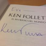 Crónica de una entrevista deseada. Ken Follett