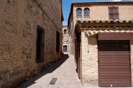 Una calle, aún conservada, de la judería en Toledo.