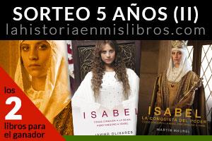 Sorteo Isabel La historia en mis libros