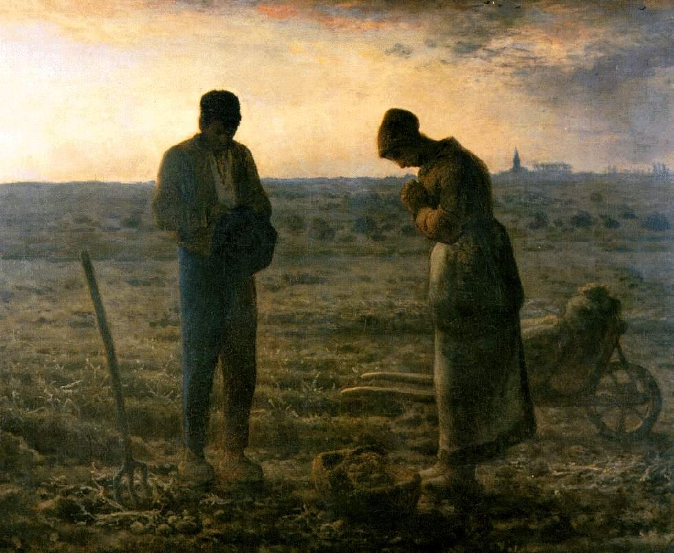 El Ängelus. Millet