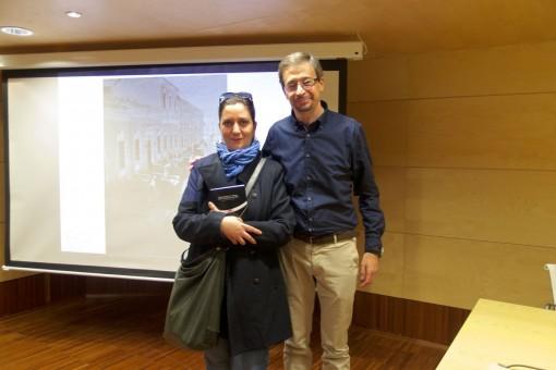 José Ramón Gómez Cabezas y yo
