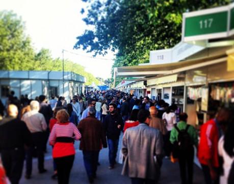 En la Feria del libro de Madrid el pasado 31 de mayo de 2013