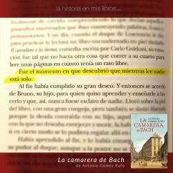 La camarera de Bach, de Antonio Gómez Rufo