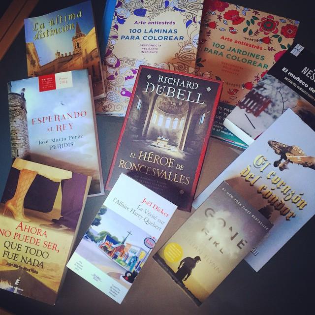 Los nuevos habitantes de mi biblioteca (Noviembre 2014) - La historia en mis libros