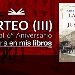 Sorteo: La ley de los justos - La historia en mis libros