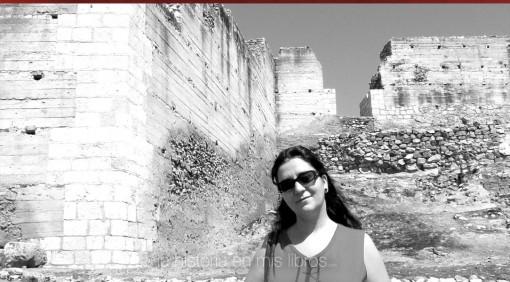 Restos de la muralla de Alarcos. Imagen de 2009.