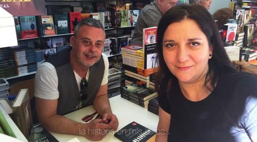 Con Toni Hill