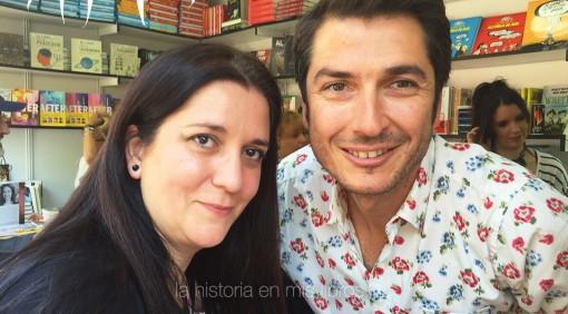 con Carlos del Amor