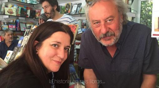 con Julio Llamazares