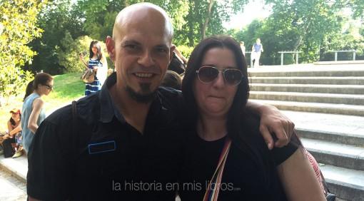 con César Pérez Gellida