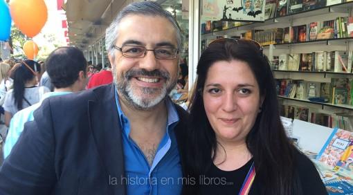 con Félix G. Modroño