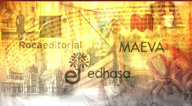Novedades editoriales. Noviembre 2015. Edhasa, Maeva y Roca Editorial