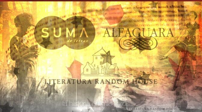 Novedades editoriales. Noviembre 2015. Suma, Literatura Random House y Alfaguara
