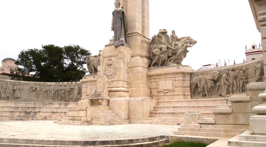 Monumento a las Cortes de Cádiz, en Cádiz.