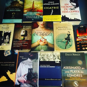 Los nuevos habitantes de mi biblioteca - La historia en mis libros