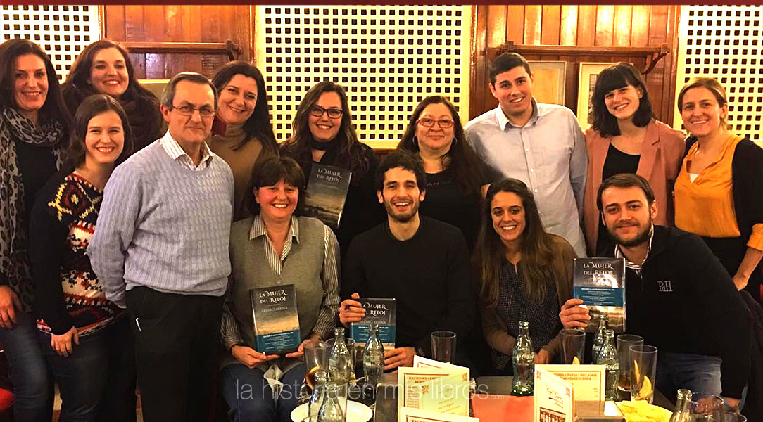 Encuentro tertulia con Álvaro Arbina