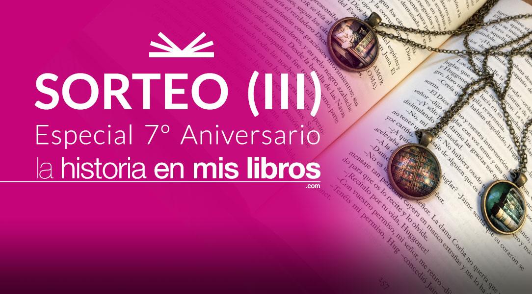SORTEO (III): Colgantes literarios