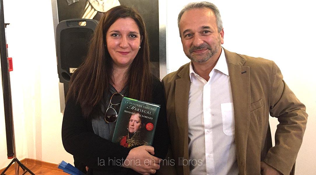 Con Sixto Sánchez Lorenzo, ganador de la esta edición.