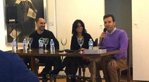 Presentación de los libros de Daniel Ortega y Blanco Bravo.