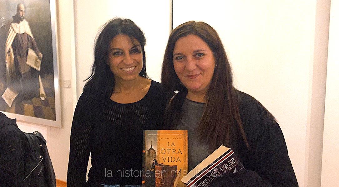 Blanca Bravo, amable autora de La otra vida.