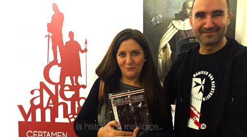 Con Daniel Ortega, autor de Berlín 1945: Mi diario de un infierno, gran conocedor de la historia bélica del Siglo XX