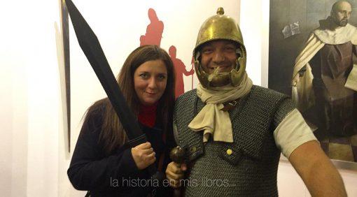 Con uno de los mejores amigos de Massimiliano Colombo y experto conocedor de la historia de Roma.