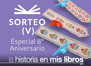 Sorteo V - 8 Anversario - La historia en mis libros