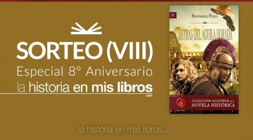 Sorteo VIII - 8 Aniversario - La historia en mis libros