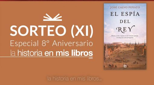 Sorteo XI - 8 Aniversario - La historia en mis libros