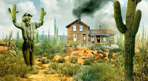 La casa entre los cactus, de Paul Pen