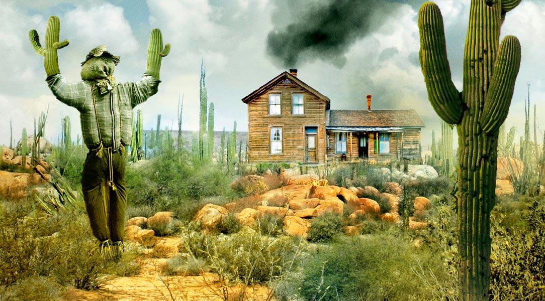 la casa entre los cactus de paul pen rese a. Black Bedroom Furniture Sets. Home Design Ideas