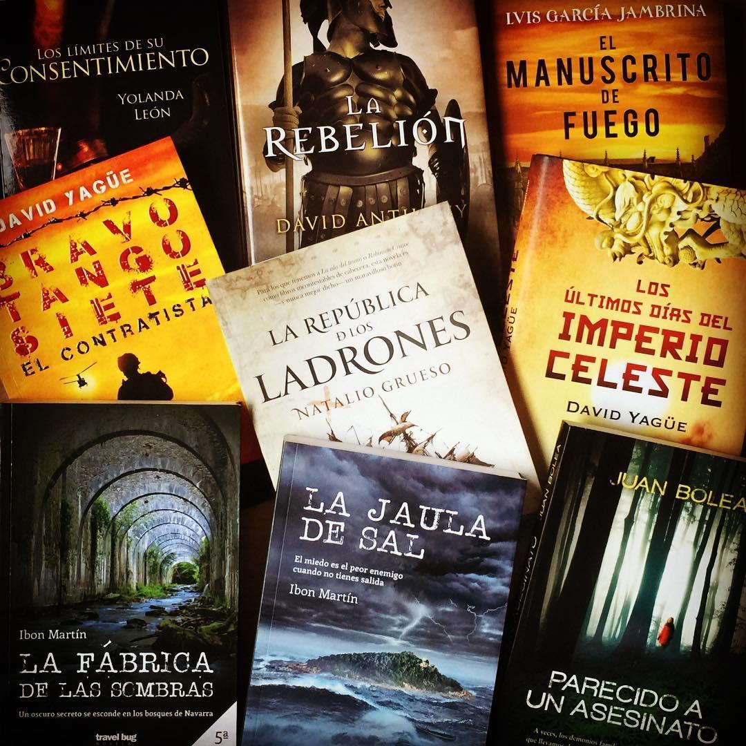 Los Nuevos Habitantes de mi Biblioteca. Diciembre 2017 - La Historia en mis Libros