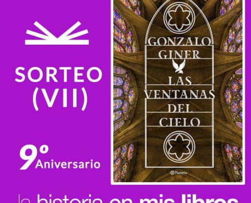 Sorteo VII: Las ventanas del cielo, de Gonzalo Giner