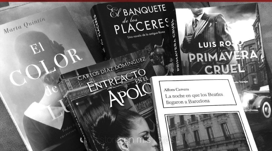 Los Nuevos Habitantes de mi Biblioteca. Febrero 2018 - La Historia en mis Libros