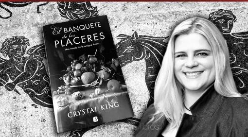 Entrevista a Crystal King, autora de «El banquete de los placeres»